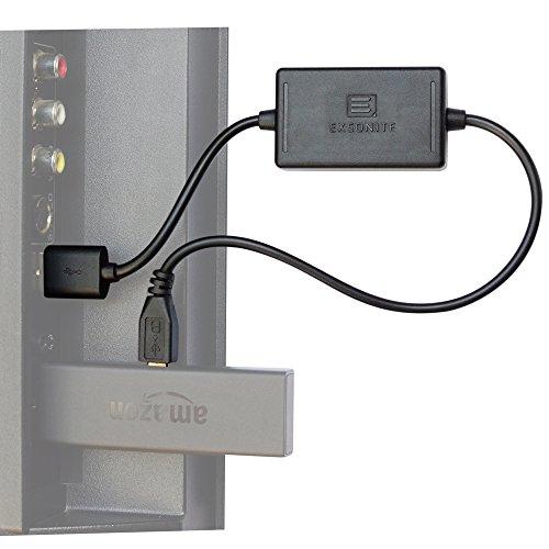 Exsonite Intelligentes Stromkabel für Fire TV Stick