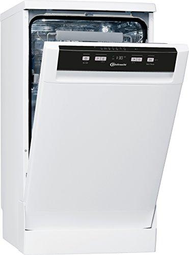 Bauknecht GCF 725 WH Geschirrspüler freistehend, A++, 45 cm, 211 kWh/Jahr, 10 MGD, Startzeitvorwahl, Option Multizone