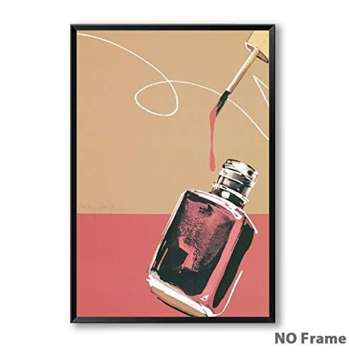 Mode frauen Parfüm Leinwand Kunst Malerei Druckplakat Foto Wand Wohnzimmer Dekoration Malerei 40x50 cm