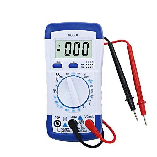 Loadfckcer A830L LCD Digital Multimeter DC AC Spannung Diode Freguency Volt Tester Test Strom Voltmeter Amperemeter Messgerät Display Werkzeug