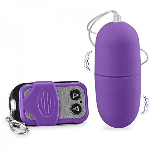 Ferngesteuertes XL-Vibro-Ei - Violett - Sextoys für Paare > Vibro-Eier