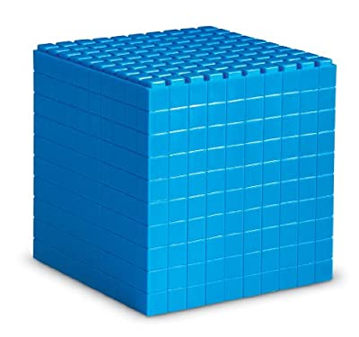 Learning Resources Interlocking Base Ten Cube from Learning Resources