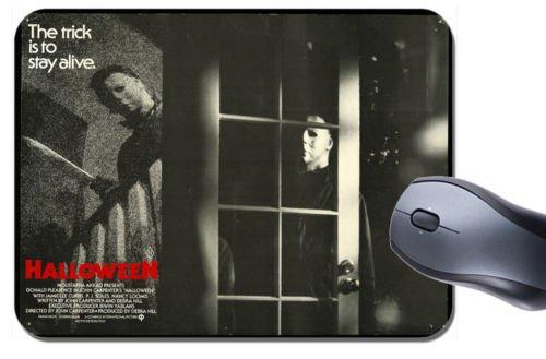 Halloween 1978Film Poster Mauspad. Classic John Carpenter Horror Maus Pad