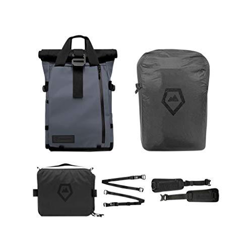 Bundle-Blau. Travel und DSLR Kamera-Rucksack mit Laptop/Tablet Sleeve und Regenschutz ()