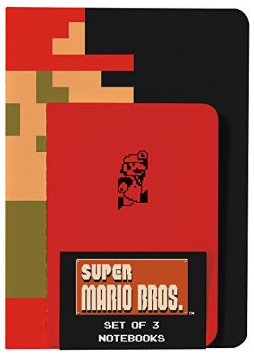 Super Mario Brothers Notebooks (Set of 3) por Nintendo