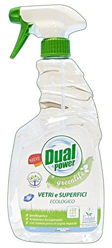 DUAL POWER Waschmittel Gläser Ökostrom ökologische Trigger 750 ml.