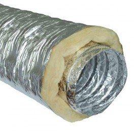 Gaine insonorisée à la laine de roche - 250mm x 10m conduit de ventilation