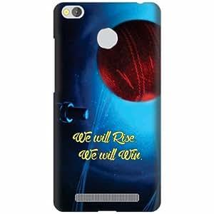 Redmi 3S Prime Plastic Back Cover - Multicolor Designer Cases Cover By Printland
