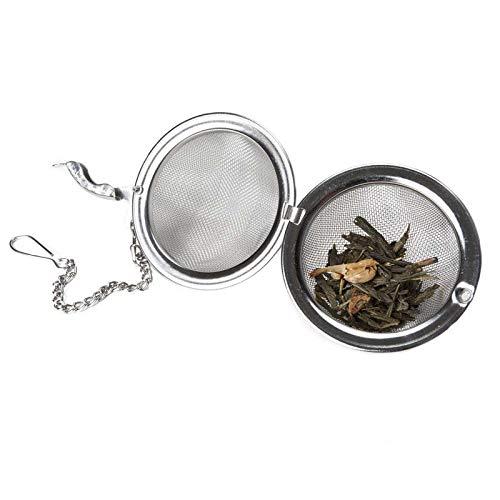 Aromas de Té - Bola Infusora Ideal para Preparar tu Té con ella podrás calcular con más facilidad la cantidad de té que tu bebida necesita para que sea lo más deliciosa posible