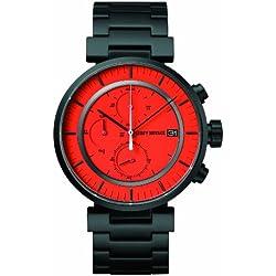 Issey Miyake Unisex-Armbanduhr W Chronograph edelstahl schwarz SILAY005