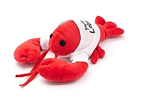 """""""You're My Lobster"""" Plush in cute White T-Shirt, inspired by (Bianco Aragosta)"""