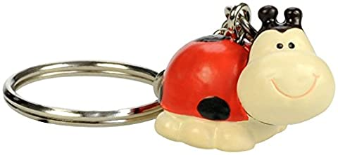 Blue Bug Gifts Porte Clefs Collection - 13 choix d'animaux - Coccinelle - Lilly