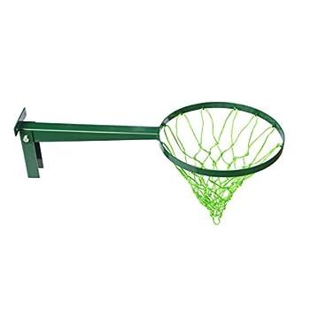 Largo alcance baloncesto aro
