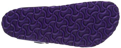 Birkenstock Gizeh Leder Softfootbed, Tongs Femme Violet (Metallic Violet)