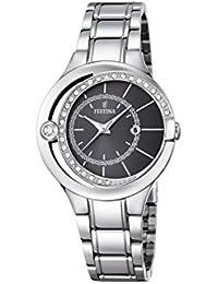 Festina Damen-Armbanduhr Analog Quarz Edelstahl F16947/2
