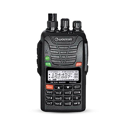 WOUXUN KG-UV6D 2M/70CM 136-174/400-480MHz Dualband FM 76-108 Amateurfunk BOS Handfunkgerät Cb-funk-codes