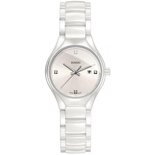 RADO Femme Bracelet & BOITIER CÉRAMIQUE Blanc Quartz Montre R27061712
