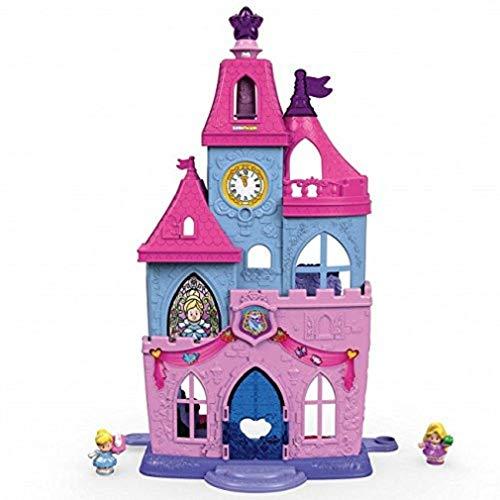 Fisher-Price - Palais Collection Little People de Disney avec Baguette Magique - DRL52