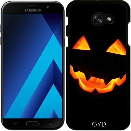 (DesignedByIndependentArtists Hülle für Samsung Galaxy A7 2017 (SM-A720) - Halloween Kürbis by hera56)