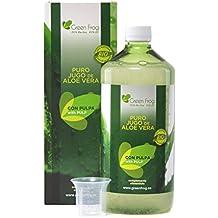 Jugo de Aloe Vera ecológico con pulpa. 100% Fresco y Natural