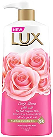 Lux Perfumed Body Wash Soft Rose, 700 ml