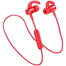 Auriculares Bluetooth Deportivos , Zedela In-Ear Cascos Inálambricos estéreo,Auriculares magnéticos Bluetooth 4.2