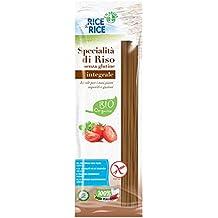 Rice & Rice Espaguetis Arroz Integral - 3 Paquetes de 1 x 250 gr - Total