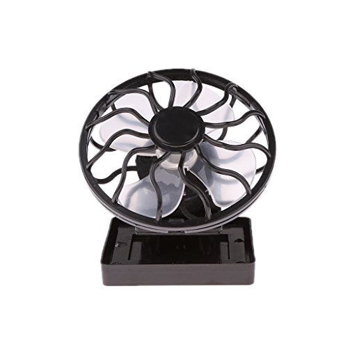 Solar Sun Power Panel Fan Outdoor Hat Clip-on Cooler Outdoor Camping Hiking  available at amazon for Rs.355