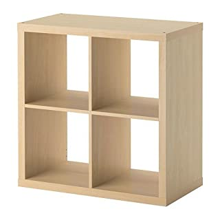 Ikea KALLAX Regal Birkenachbildung; (77x77cm); Kompatibel mit EXPEDIT