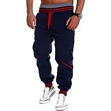 Hombre Chándal Pantalones de Chandal Gym Pantalones Deportivos Multicolor