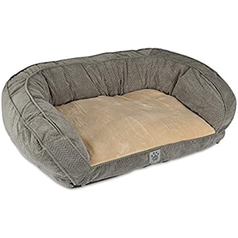 Precision Pet Daydreamer Gusset Couch, 32 by 25 by 10.5-Inch, Gray by Precision Pet