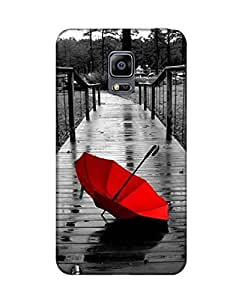 Pick Pattern Back Cover for Samsung Galaxy Note 4 EDGE SM-N9150(Matte)