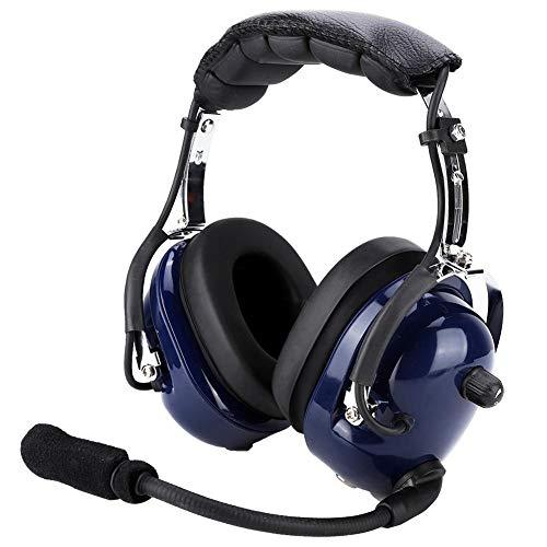General Aviation Headset (Garsent Aviation Headset, 24dB Geräuschreduzierung Winddichter Schaumstoff General Aviation Headset für Flugzeugpiloten.)