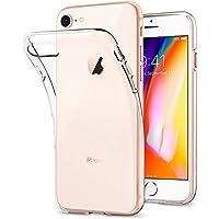 Coque iPhone 7, Coque iPhone 8, Spigen® [Liquid Crystal] Ultra Mince Premium TPU Silicone [Crystal Clear] Premium transparent / Exact Fit / NO Bulkiness Souple Coque Pour iPhone 7 (2016) et iPhone 8 (2017) - (042CS20435)