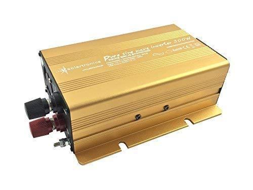 Spannungswandler 12V 300 bis 3000 Watt reiner SINUS mit echtem Power USB 2.1A Gold Edition (300 Watt)