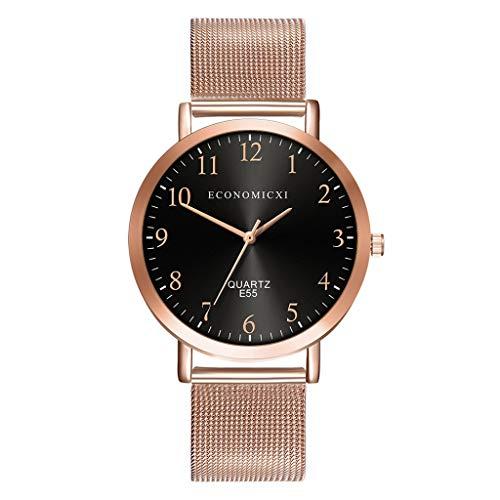 Hansee Damen Business Uhren Art Elegance Quarz Klassisch Casual Design Armbanduhr Gr. Einheitsgröße, Schwarz