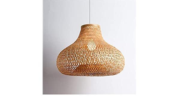Plafoniere In Vimini : Plafoniera paralume lampadari centimetri mano bambù vimini