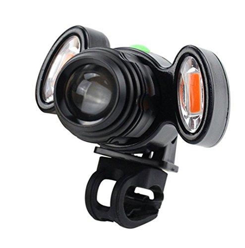 Seonaw Radfahren Front Lampe Einstellbar Fahrrad Scheinwerfer USB Aufladbare Lampe 3 Modus IPX-6 Wasserdicht T6 LED Fahrrad Kopf Licht.