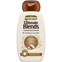 Mascarilla de pelo Garnier Original Remedies de leche de coco, para cabello seco, 250 ml