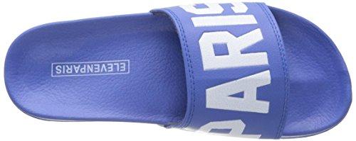 Eleven ParisThiago - Sandali infradito Unisex - Adulto Blu (Bleu (Eleven Blue))