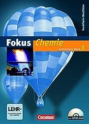 Fokus Chemie - Gymnasium Nordrhein-Westfalen: Band 3 - Schülerbuch mit DVD-ROM