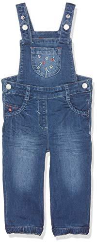 s.Oliver RED LABEL Junior Unisex - Baby Jeans-Latzhose mit Stitchings blue denim stretch 74.REG