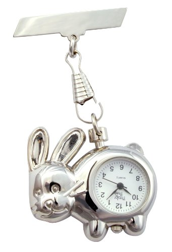 shiny-rabbit-fob-watch-great-midwife-nurse-gift-present