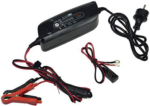 12 V Protection Contre la surchauffe et la polarit/é enti/èrement Automatique. Chargeur enti/èrement Automatique pour Batteries de Moto et de Voiture 6 V