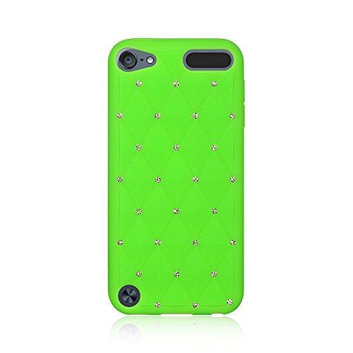 Dream Wireless High End Haut Fall für iPod Touch 5, Studed diamond teal - Ipod 5 Teal Fällen,