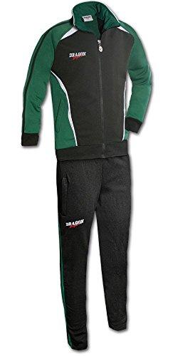 DragonSport Trainingsanzug Chelsea, Farbe:grün/schwarz, Größe:116
