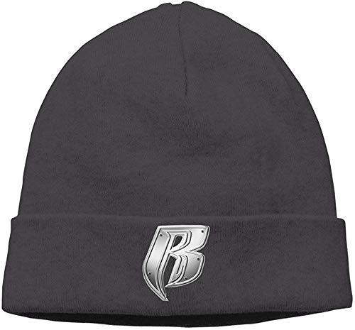 CehTureal Trithaer STUAOTO Ruff Ryders Logo Beanie Cap Black