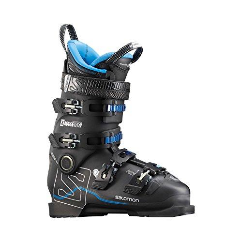 Salomon X Max 100botas de esquí para hombre, hombre, BLACK / METALLIC BLACK / INDIG