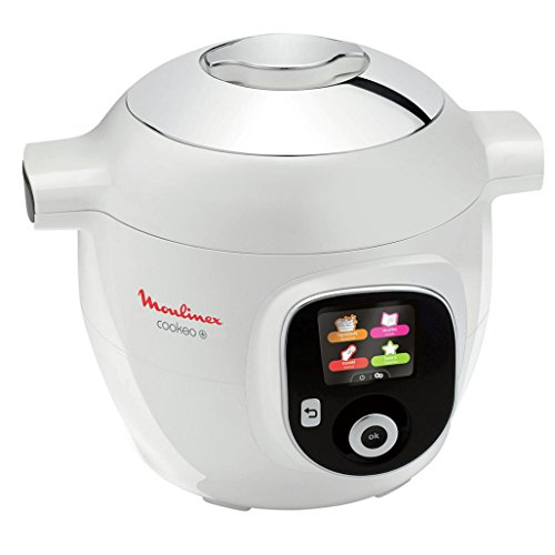 Moulinex - ce851100 - Multicuiseur intelligent 6l 1600w blanc cookeo+