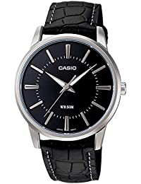 Casio Enticer Analog Black Dial Men's Watch - MTP-1303L-1AVDF (A496)